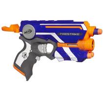 Lançador Nerf N-strike Elite Firestrike Pistola C Mira Laser