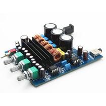 Kit Placa Montada Amplificador 2.1 - 50w+50w+100w=200w Rms