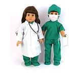 Médico O Enfermera 7 Set Pc | 18 Pulgadas De Ropa De Muñec