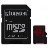 Memoria Micro Sd Xc 128gb Kingston Cl 10 C/adapt Sdca3/128gb