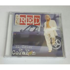 Grupo Red El Color De Tu Corazon Usados Muy Buen Estado