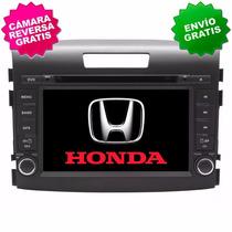 Estereo Navegador Gps Honda Crv 12-16 Dvd Pantalla Bluetooth