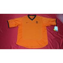 Jersey Holanda Nike Local Eurocopa 2000 Nueva Con Etiquetas