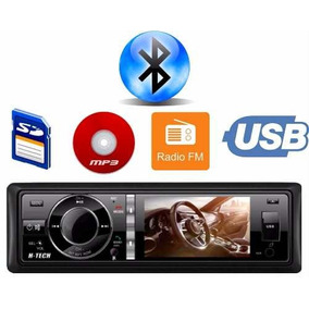 Dvd Player Bluetooth Htech 3 Polegadas Hdv30bt Usb Sd