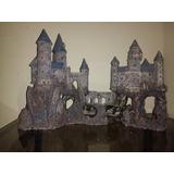 Castillos Medioeval En Resina Para Peceras.penn Plax