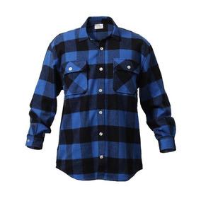 Camisa Masculina Flanela Xadrez Lenhador