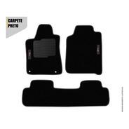 Tapete Honda Cr-v 2012/2013/2014/2015/2016/ Carpete Preto