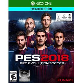Pes2018 Xbox One Pes 2018 Pes18 Pes 18 Df Mercadoenvíos