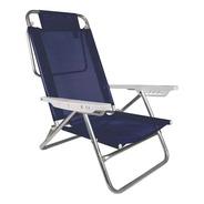 Reposera Sillon Playa Camping Aluminio Reforzada Mor 2105