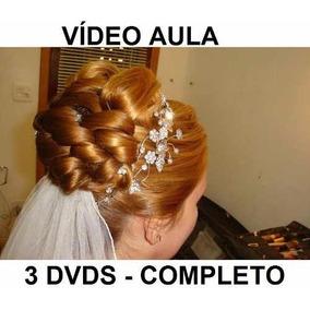 Curso De Cabeleireiro Penteados Profissionais Em 3 Dvds!