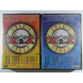 2 Dvds Guns And Roses Use Your Illusion Vol1&2 Excel Estado