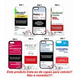 Capa Case Personalizada Rivotril Ritalina Xperia Z1 Z2 Z3 Z4