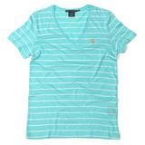 Ralph Lauren - Camiseta Listrada Gola V