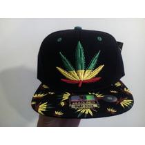 Gorra Cachucha Sombrero Hat Rasta Reggae Weed Headlines