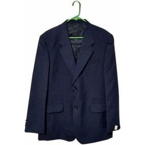 Saco Azul Marino Regular Nuevo Blazer Traje Hombre Formal Dc