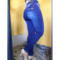 Kit 2 Calça Jeans Est Pitbull Lev E Modela Bumbum 2 Cores