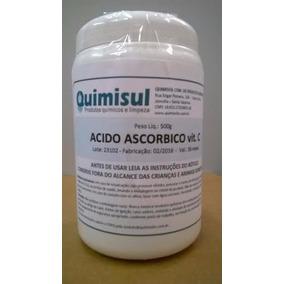 Vitamina C 500g Ácido Ascórbico Puro 99,9% Oferta !!!!