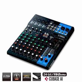 Mesa Analógica 10 Canais 4mic 3st 1aux Fx Usb Yamaha Mg10xu