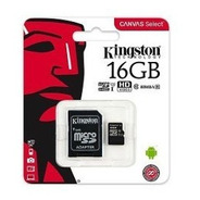 Memoria Kingston Micro Sd 16 Gb Con Adapt Class 10  80 Mb