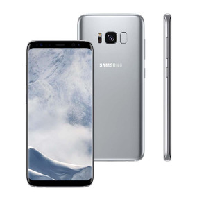 Samsung Galaxy S8 2 Chip Prata 64gb.8 Android 7.0 4g 12mp
