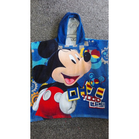 Toalla Poncho Infantil Mickey