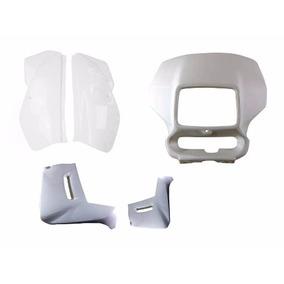 Kit Plastico Carenagens Xr200 Branca 3 Peças