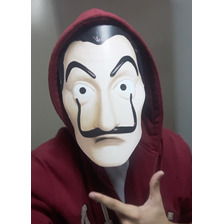 Máscara Da Série La Casa De Papel - Salvador Dalí Netflix