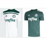 Kit 2 Camisa Do Palmeiras Nova Camiseta Verdão 2018 Uni 1 2