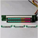 Vu Meter Digital Estéreo 12 Leds Multiefeitos Com Agc