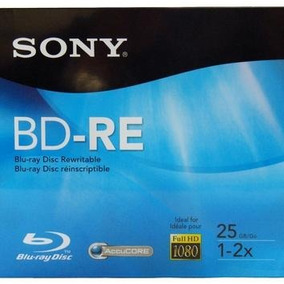 Mídia Blu Ray 25gb Regravável - Sony