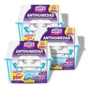 Antihumedad Perfumante Lavanda Aire Pur Max 25m3 Pack 3un