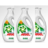 Ariel Líquido1.9 Lts - Pack X 3 Concentrado Rinde 3.8 Lts