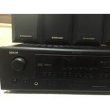 Amplificador Denon Modavr587 5 Bocinas Pioneer Y Subw Onkyo