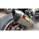 Tubo Resonador Escape Akrapovic Moto