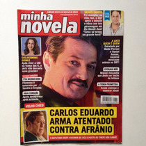 Revista Minha Novela Guilhermina Guinle Rainer Cadete Márcio