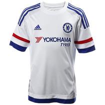 Playera Jersey Visitante Chelsea Fc 15/16 Niño Adidas S11654
