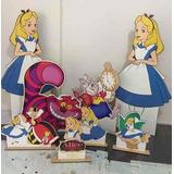 8 Display Alice No Pais Das Maravilhas Personalizado