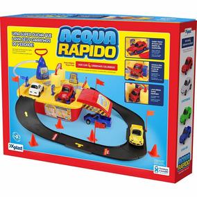Acqua Lava Rápido Jato C/ 4 Carrinhos - Home Play Xplast