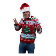 Suéter Ugly Sweater Árbol De Navidad Navideño