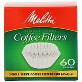 Melitta 63229 Filtros De Café De Un Solo Uso Para Javajig...