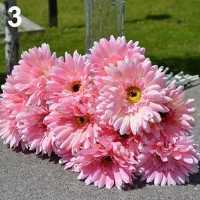 flor gerbera artificial en mercado libre méxico