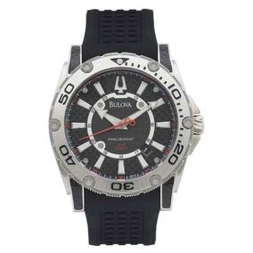 b9d784db253 Relogio Quadrado Borracha Bulova - Relógios De Pulso no Mercado ...