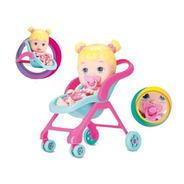 Muñeca Vamos De Paseo  Bebe Cochecito Coleccion Diver Toys