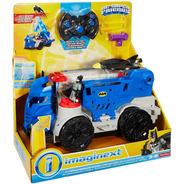 Carro Comando Movil Batman Imaginext C. Remoto Luces Sonidos