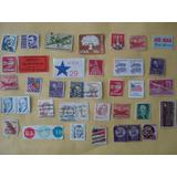 Timbres Postales De E. U. De Coleccion Usados