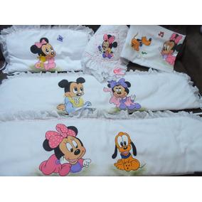 Protetor De Berço Minnie E Mickey