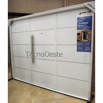 Porton Garage Oblak 1783 Blanco Inyectado 240x200 Premium