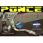 Header Ponce Racing Chevy Corsa Tornado Todos