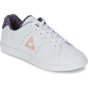 Tenis Mujer Le Coq Sportif Courte Gs Color Blanco 1610472
