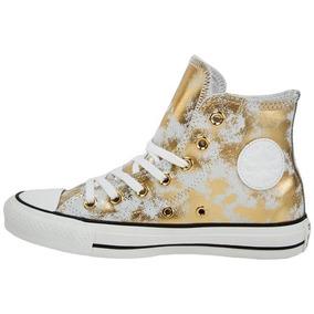 Zapatillas Converse Girl Ct High Gold / White